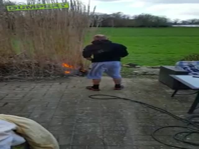 Don't Play With Fire, Kids…