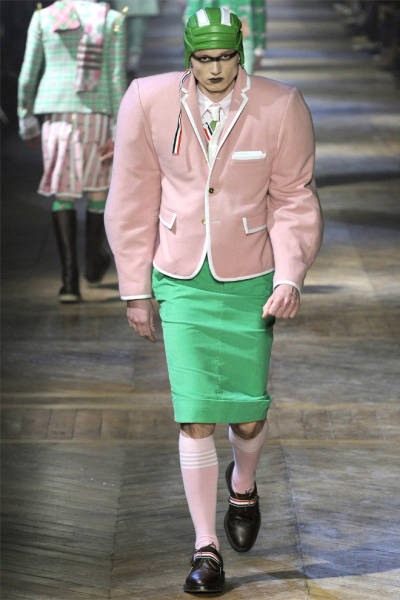 Fashion Designers Think Men Should Look Something Like This…