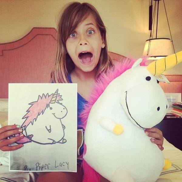 Children's Drawings Can Now Be Turned Into Real Plush Toys!