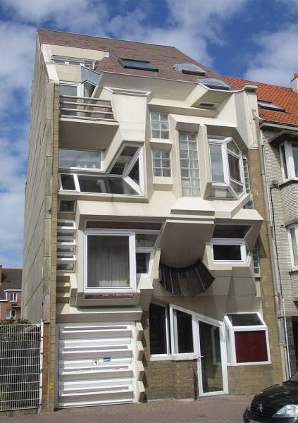 Why Is There So Many Ugly Houses In Belgium?