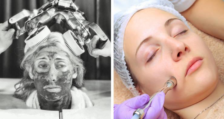 Az utolsó évszázad szépségápolási termékei nagyon különbözőnek tűntek