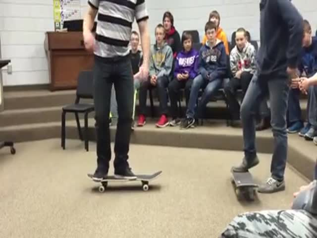 Teacher Still Has His Skills