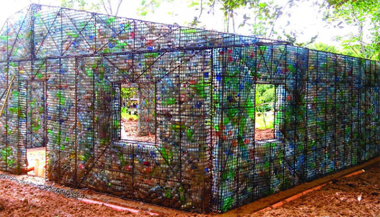 Canadian Entrepreneur Uses Discarded Plastic Bottles To Build Real Houses