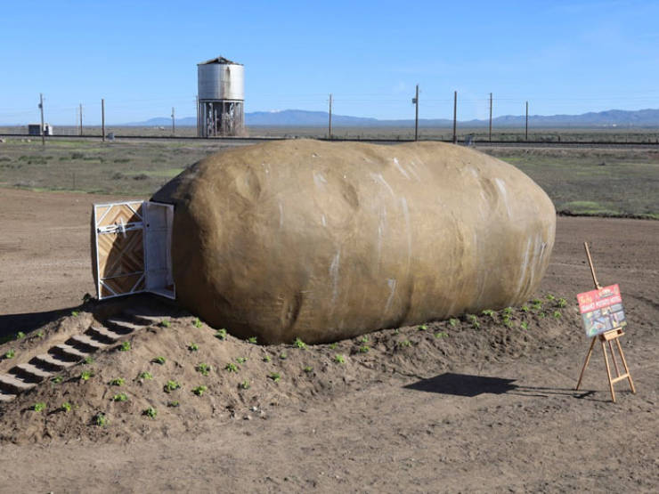 Fulfill Your Dreams Of Living Inside A Big Potato!