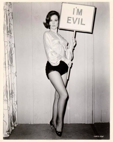 People Were Posing With Signs Before It Was Cool