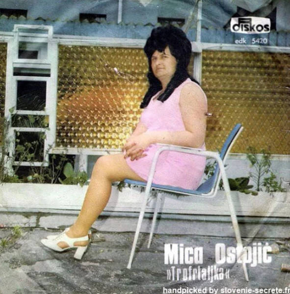 Vintage Album Covers From Yugoslavia Are A Special Sort Of WTF