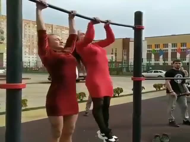 Cute Girls Can Be Sporty As Well