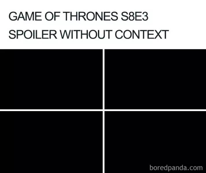 """No One Can See These """"Game Of Thrones"""" Season 8, Episode 3 Memes"""