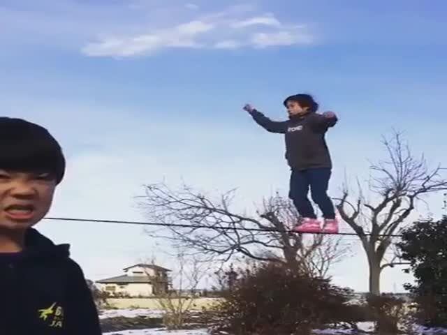 He Has Too Much Skill For His Age