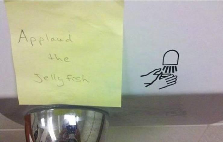 Just A Little Bit Of Vandalism…