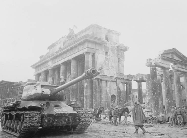 Berlin After The End Of World War II