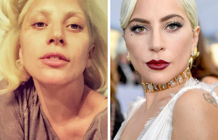 Celebs Show Themselves Without Layers Of Make Up