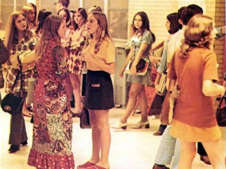 The American School Life Of 1970's