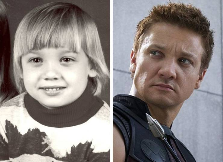 Adorable Child Versions Of Fearsome Avengers Stars