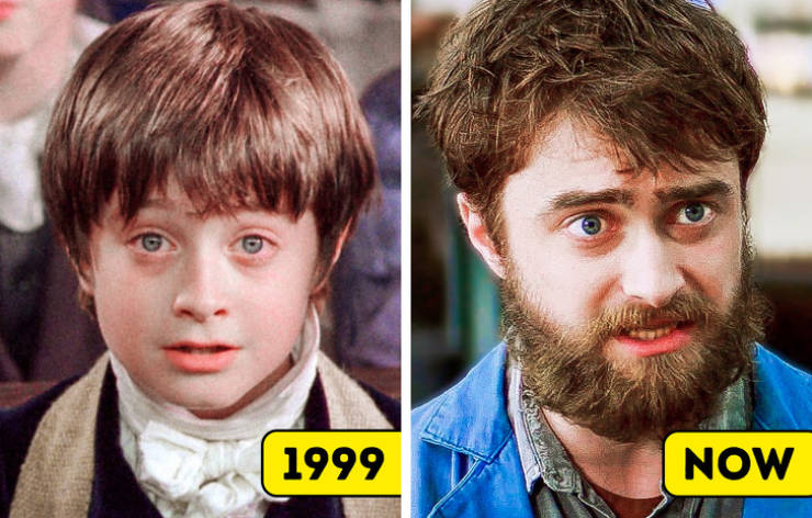Actors And Actresses In Their First And Most Recent Roles