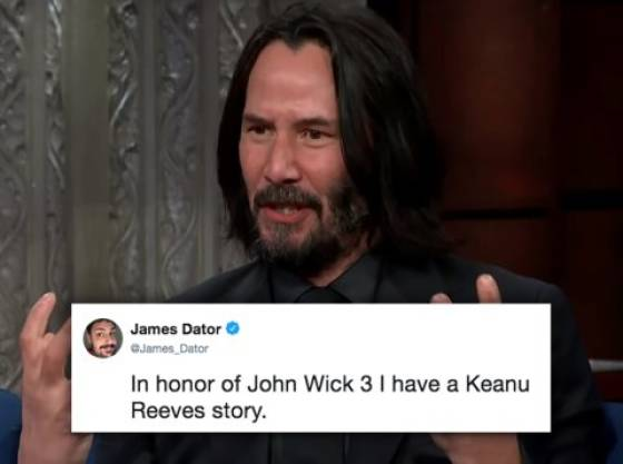 Yet Another Amazing Story About Keanu Reeves