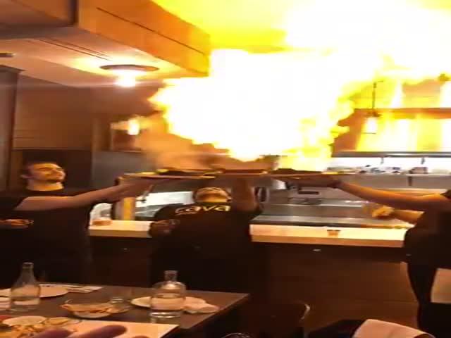 Nice Fire Show, Guys!