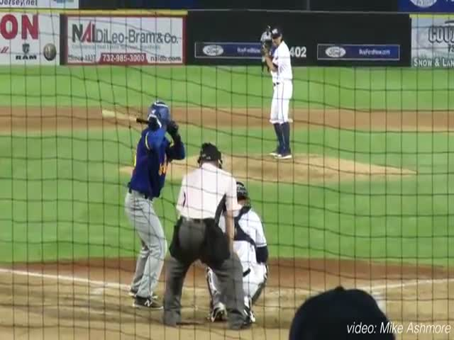 Baseball Announcer Nails His Job In Two Ways At The Same Time