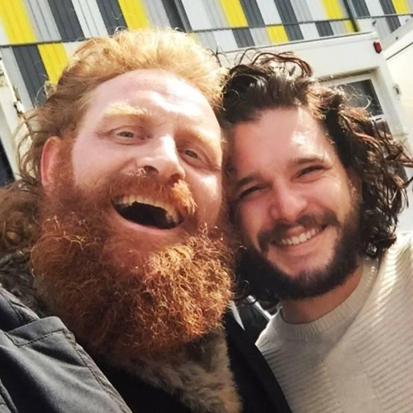 Kristofer Hivju (Tormund Giantsbane) Pays Tribute To Their On-Screen And Real-Life Friendship With Kit Harrington (Jon Snow)