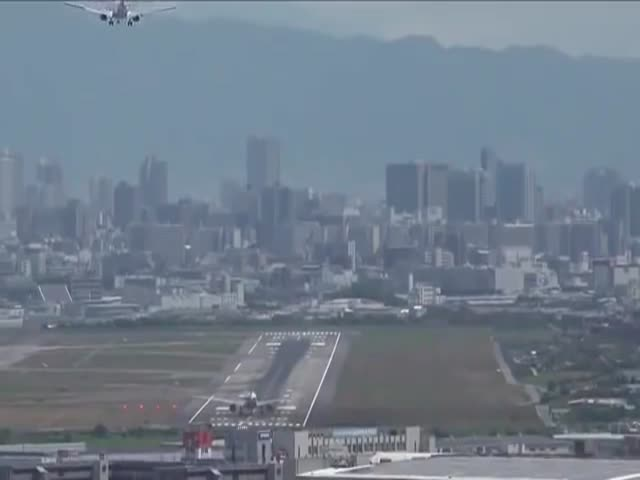 Two Airplanes, One Runway