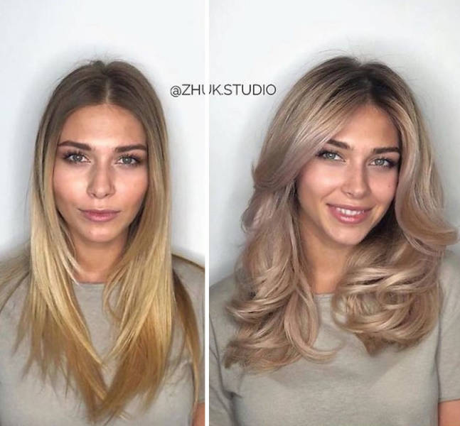 Stylist Transforms Women With Only Makeup And New Hairstyles