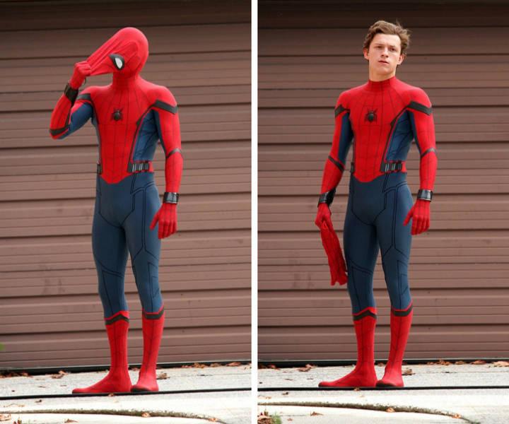 Acting In Superhero Costumes Is Not Always Easy