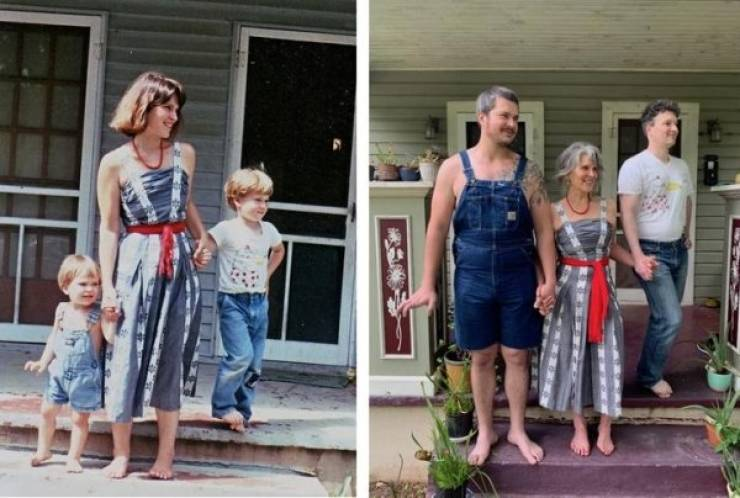 Photos That Bring The Past To The Present