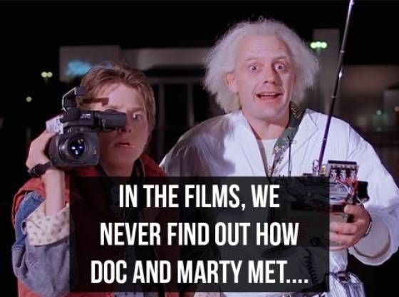 "Doc, These Are ""Back To The Future"" Facts!"