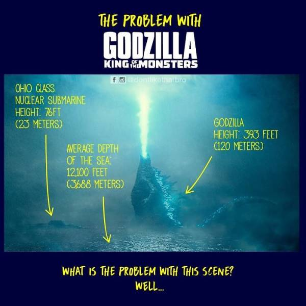 So How Does Godzilla Stand In The Middle Of The Ocean? Let's Meme Out