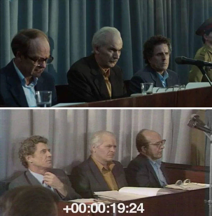 """HBO's """"Chernobyl"""" Cast And Old Photos Of Their Prototypes"""