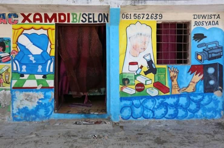 Somalian Shops Know Something About Marketing