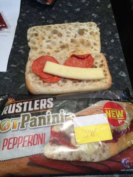 Even Food Can Deceive You…
