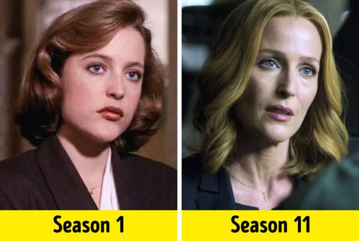 TV Show Actors In First Season Vs. In The Last Season