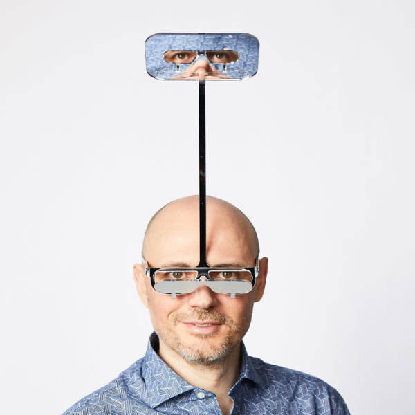 """Guy Invents A """"One Foot  Taller"""" Periscope For Short People"""