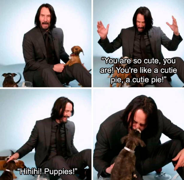 There Are So Many Reasons To Love Keanu Reeves!