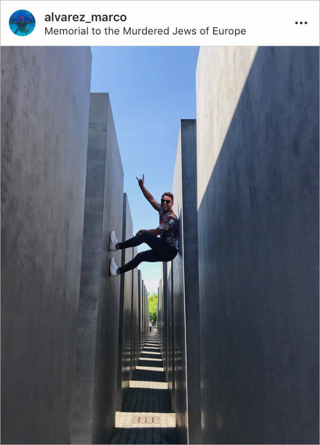 Berlin Holocaust Memorial – What A Great Place For Selfies, Huh…