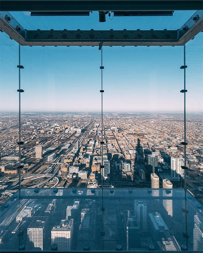 Picture It: You're On 103rd Floor, And The Glass Shatters Underneath Your Feet
