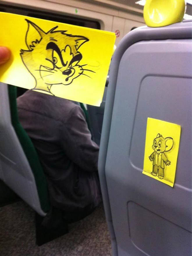 If You Are Very Bored On The Train