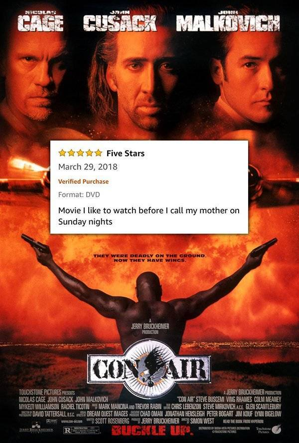 Amazon Movie Reviews Don't Get Any Better Than This