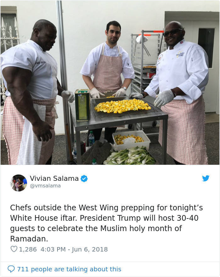 This White House Chef Doesn't Look Like Your Ordinary Cook