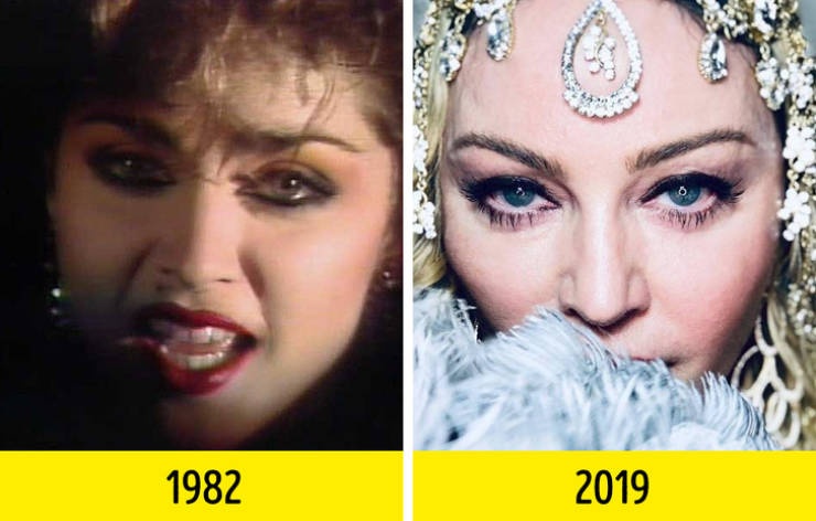 Singers In Their First Music Videos And Now