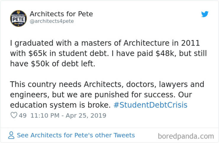Student Debts Are Actually Ridiculous