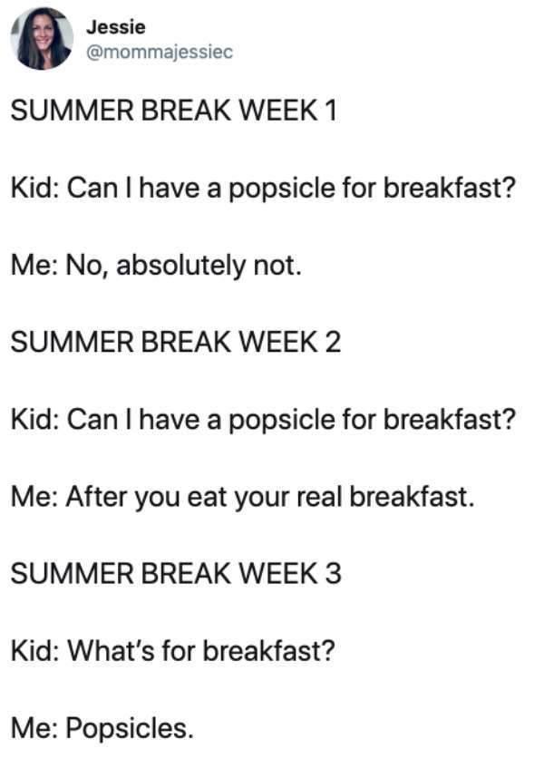 Summer Break? Parents Don't Know What That Means