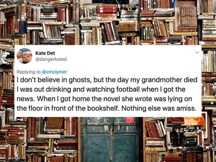 Do You Have Any Ghost Stories?
