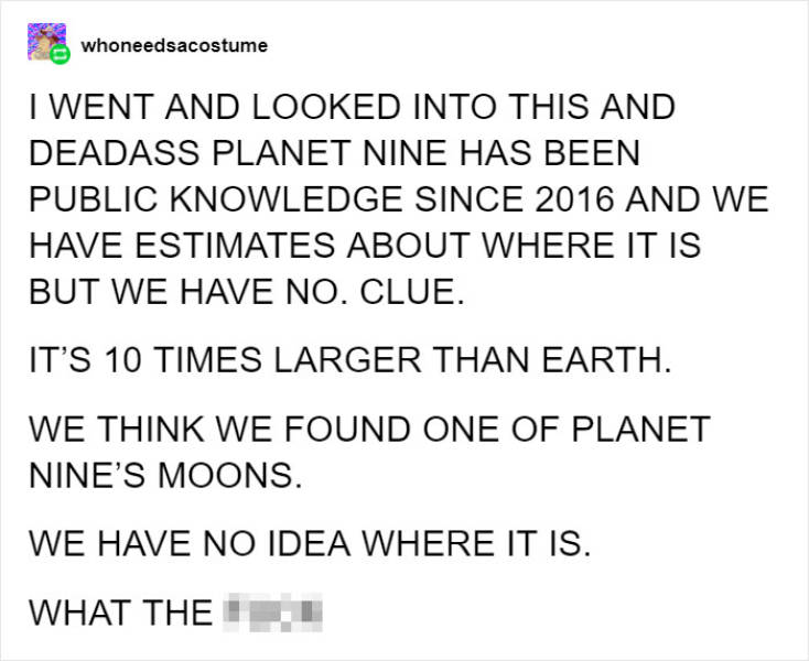 Is There A 9th Planet Somewhere Out There?