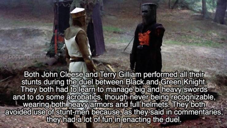 """Monty Python And The Holy Grail"" Facts In Your General Direction"