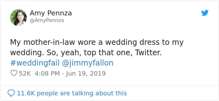 Nothing Beats A Mother-In-Law In A Wedding Dress… When It's Not Her Wedding
