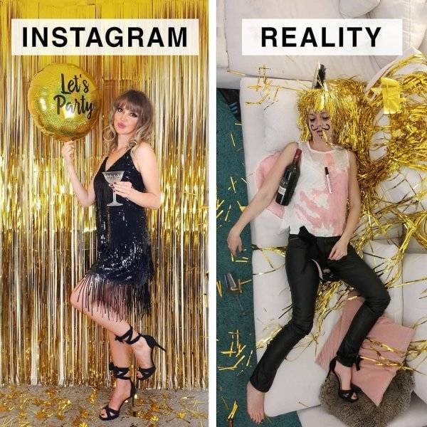 Instagrammer Shows How Far Instagram Is From Reality (24