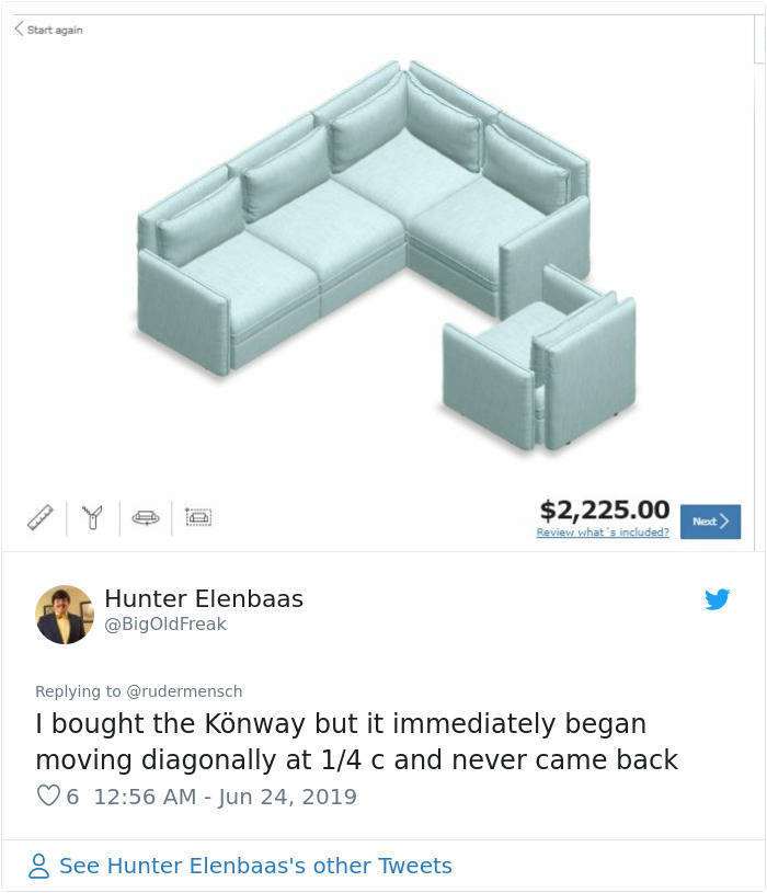 IKEA Lets People Do Whatever They Want With Their Couches