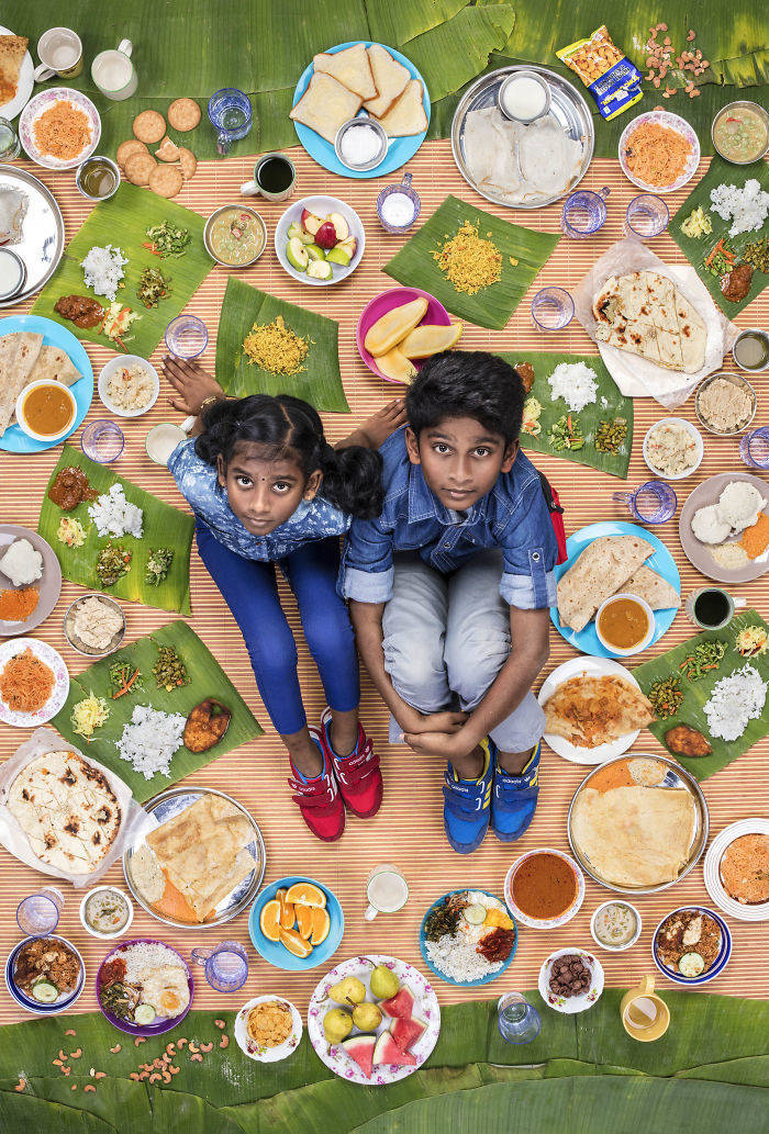 Kids Around The World And What They Usually Eat 26 Pics